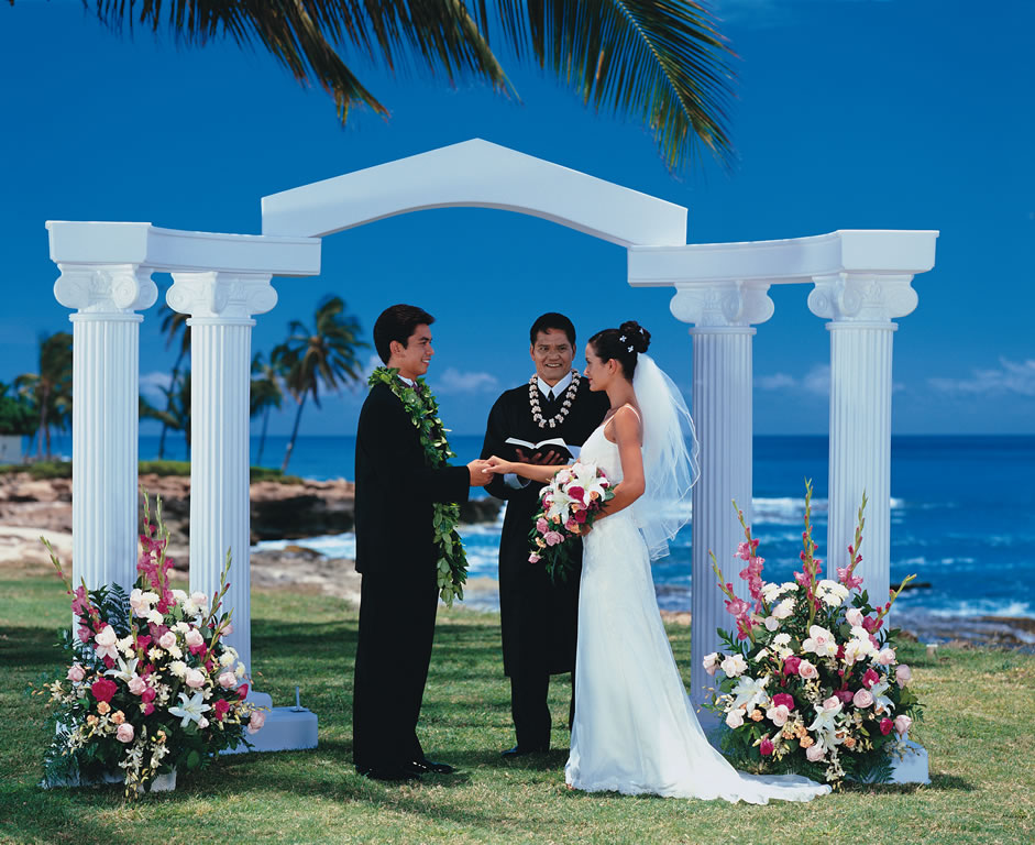 Wedding packages paradise cove events for Au jardin wedding package
